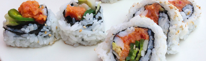 Spicy Tuna Sushirolle
