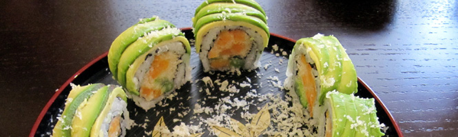 Was kann man noch in Sushi machen