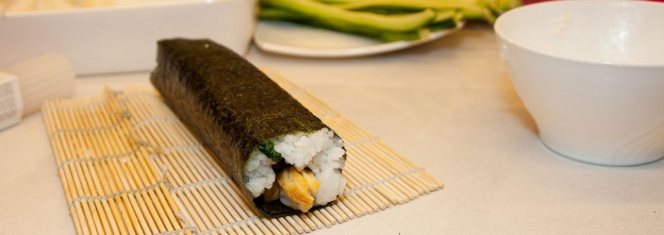 Du bist Einsteiger im Sushi machen? Dann klick mich!