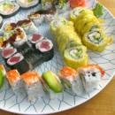 Eine Sushi Einkaufsliste für 2-4 Personen