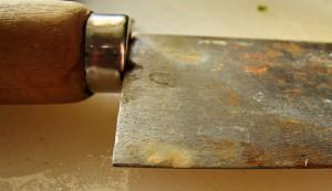 Rostiges Messer