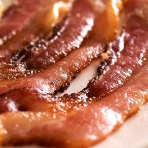 Bacon im Sushi