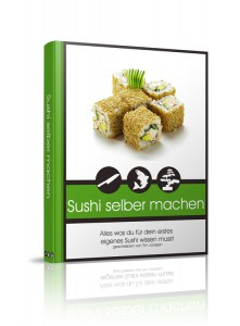 Sushi eBook 3D Cover