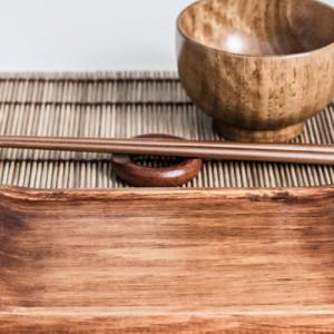 Geschirr für Sushi