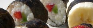 Süßes Sushi selber machen