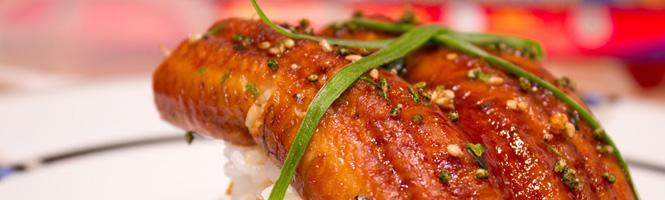 Unagi Sushi in Teriyakisauce
