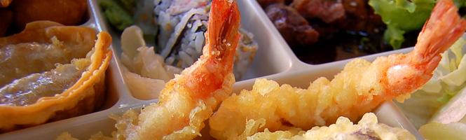 Wie macht man Tempura-Sushi